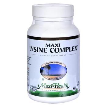 Maxi Health Kosher Vitamins Maxi Lysine Complex - 60 Capsules
