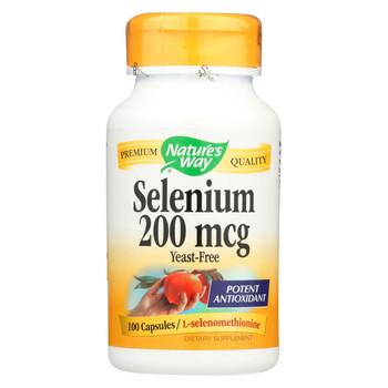 Nature's Way Selenium - 200 mcg - 100 Capsules