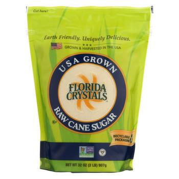 Florida Crystals Natural Cane Sugar - Cane Sugar - Case of 6 - 2 lb.