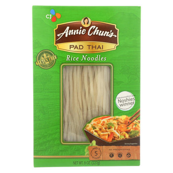 Annie Chun's Original Pad Thai Rice Noodles - Case of 6 - 8 oz.