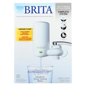 Brita Advanced Faucet Filtration System - White - 1 Count