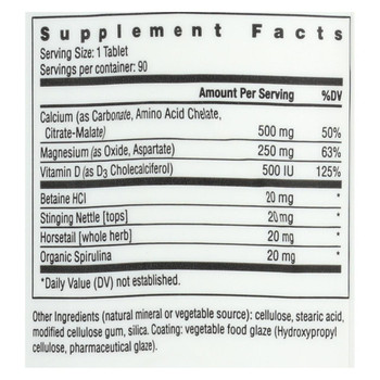 Rainbow Light Food-Based Calcium - 90 Tablets