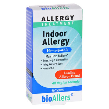 Bio-Allers Indoor Allergy - 60 Tablets