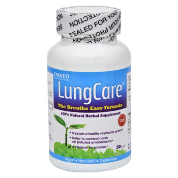 Canfo Natural Products LungCare - 30 Tablets