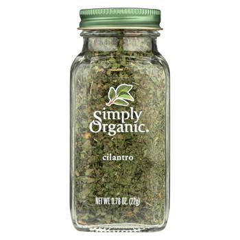 Simply Organic Cilantro - Case of 6 - 0.78 oz.