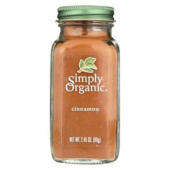 Simply Organic Cinnamon - Case of 6 - 2.45 oz.
