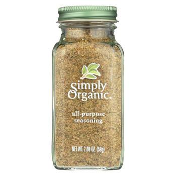 Simply Organic All Purpose Seasoning - Case of 6 - 2.08 oz.