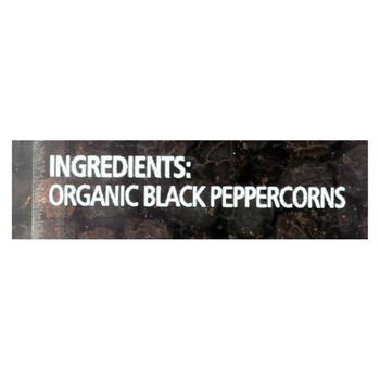 Simply Organic Black Peppercorns - Case of 6 - 2.65 oz.