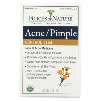 Forces of Nature - Organic Acne and Pimple Control - 11 ml