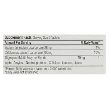 Axia 3 Heartburn Extinguisher ProDigestive Antacid - Mint - 45 Chewable Tablets