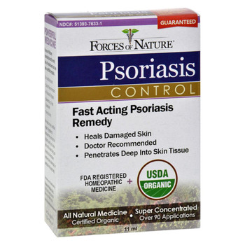 Forces of Nature - Organic Psoriasis Control - 11 ml