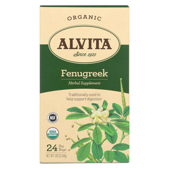 Alvita Tea Fenugreek - 24 Bag