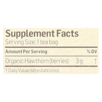 Alvita Tea Hawthorn Berry - 24 Bag