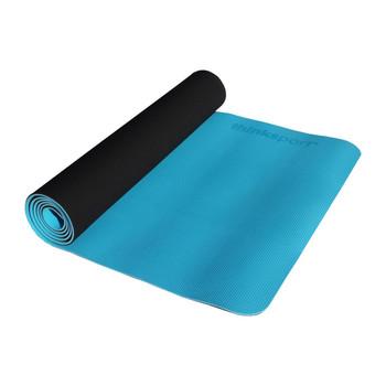 Thinksport Yoga Mat - Black/Bright Blue
