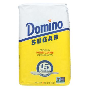 Domino Sugar - Pure Cane - Case of 10 - 4 Lb
