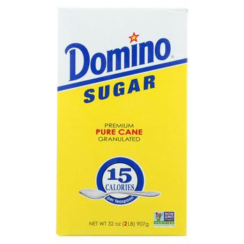 Domino Sugar - Granulated - Case of 24 - 32 oz.