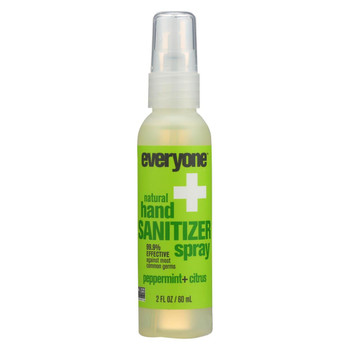 EO Products - Hand Sanitizer Spray - Everyone - Ppprmnt - Dsp - 2 oz - 1 Case