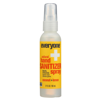 EO Products - Hand Sanitizer Spray - Everyone - Cocnut - Dsp - 2 oz - 1 Case