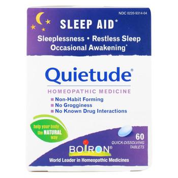 Boiron - Quietude Tablets - Restless Sleep - 60 Tablets