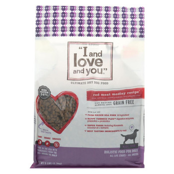I and Love and You Red Meat Medley - Grain Free - Case of 3 - 5 lb.