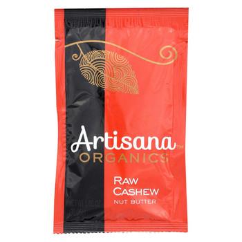 Artisana Organic Raw Cashew Butter - Squeeze Packs - 1.06 oz - Case of 10