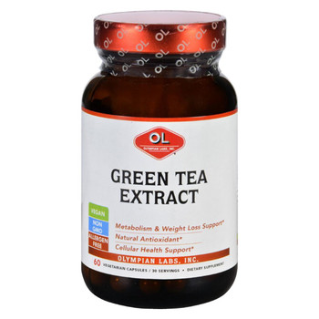Olympian Labs Green Tea Extract - 60 Vegetarian Capsules