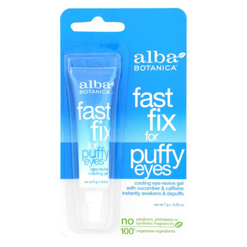 Alba Botanica - Fast Fix For Puffy Eyes - .25 oz - case of 6