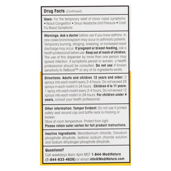 Reboost Nasal Spray - Decongestion - 20 ml