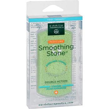 Earth Therapeutics Pedi-Glass Stone - Green - 1 Count