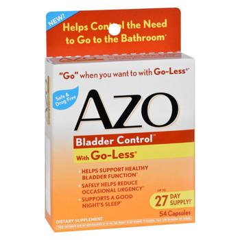 Azo Bladder Control - 54 Capsules