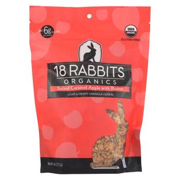 18 Rabbits Bar Caramel Apple - Case Of 6 - 8 Oz
