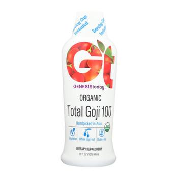 Genesis Today Organic Total Goji - 32 Fl oz.