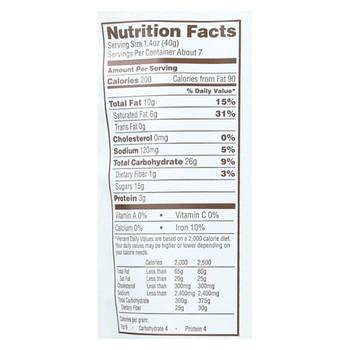 Bark Thins Snacking Dark Chocolate Pretzel - Sea Salt - Case of 9 - 10 oz.