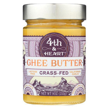 4th and Heart - Ghee - Garlic - Case of 6 - 9 oz