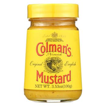 Colman Original English Mustard - Case of 8 - 3.53 oz.