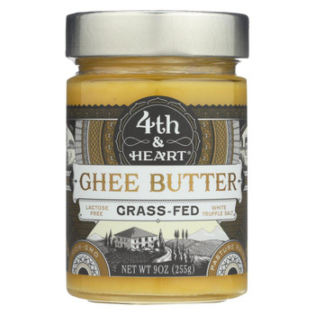 4th and Heart Salt - White Truffle - Case of 6 - 9 oz.