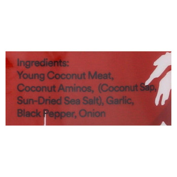 Cocoburg Coconut Jerky - Original - Case of 8 - 1.5 oz.