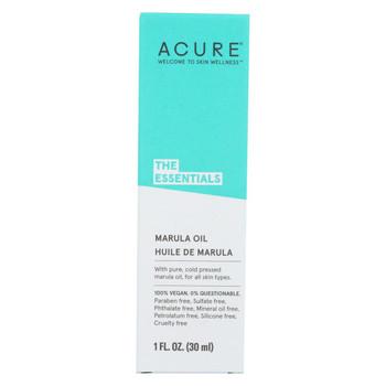 Acure - Oil - Marula - 1 fl oz