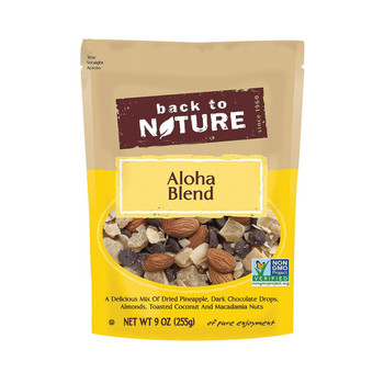 Back To Nature Mix Dried Fruit Blend - Aloha Blend - Case of 9 - 9 oz.