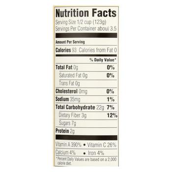 Farmer's Market 100% Organic Sweet Potato Puree - Canned - 15 oz