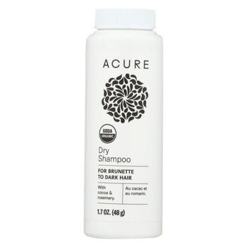 Acure - Shampoo - Organic - Dry - Brnt - Dark - 1.7 oz