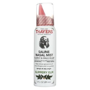 Thayers Slippery Elm - Nasal Mist - 3 fl oz