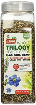 Badia Spices - Seeds - Trilogy Health - Case of 4 - 21 oz.