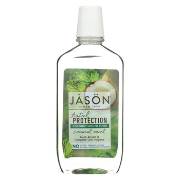 Jason Natural Products Total Protection Coconut Mouth Rinse - Coconut Mint - 16 fl oz
