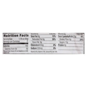 Nugo Nutrition Bar Cookie - Protein - Dark Chocolate Chip - Case of 12 - 3.53 oz