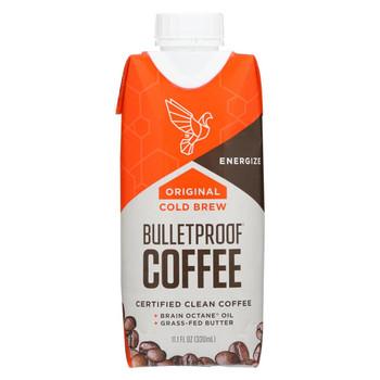 Bulletproof Coffee - Original Unsweetened - Case of 12 - 11.1 fl oz.