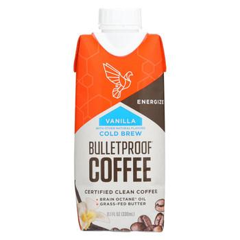Bulletproof Coffee - Vanilla - Case of 12 - 11.1 fl oz.