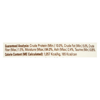 Halo Purely For Pets Pate - Cat - Chicken - Shrimp - Crab - Gluten Free - Case of 12 - 5.5 oz
