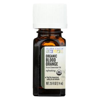Aura Cacia - Essential Oil - Blood Orange - Case of 1 - .25 fl oz.