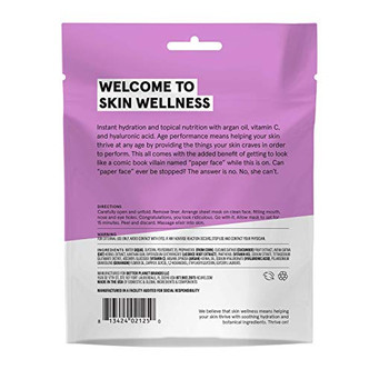 Acure - Sheet Mask - Rejuvenating - Case of 12 - 1 Ea